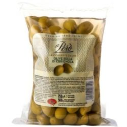 Bella di Cerignola Olives 750g | Italian | Large | Green | Buy Online | UK